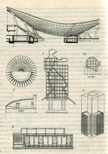 Поиски единства материала, конструкций и формы