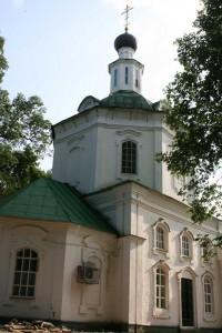 Церковь Петра и Павла. Парк Кулибина. Нижний Новгород.