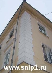 решение угла здания
