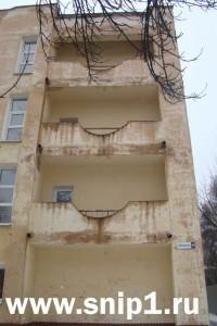 Вынесенные балконы
