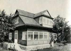 Дом из села