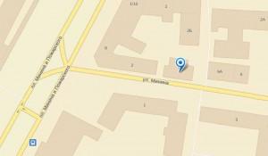Дом №4 на карте