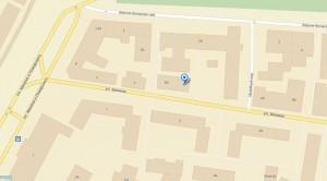 Дом №6 по ул. Минина на карте.