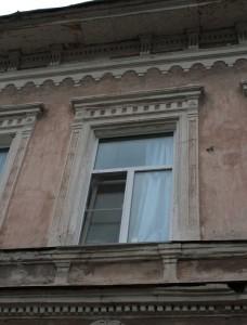 Архитектурное решение окна