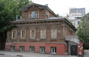 Дервянный фасад