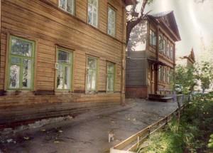Последние старые дома XIX в. По ул. Трудовой (бывшей Спасской)