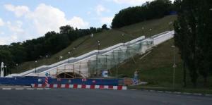 Реконструкция Чкаловской лестницы