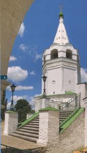 Войсковой Воскресенский собор с шатровой колокольней