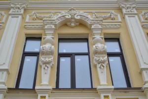 Нижний Новгород, ул. Рождественская. Архитектурное решение фасада.