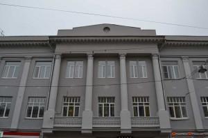 Фасад выполнен в академическом стиле. Нижний Новгород, ул. Рождественская 21