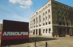 В этом здании бывшего склада галерея Арнольфини экспонирует самое лучшее, что есть в современном искусстве