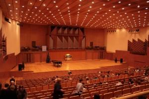 Общий вид органного зала в Набережных Челнах.