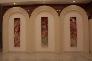 в фойе органного зала в Набережных Челнах