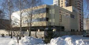 Строящееся здание Сберегательного банка