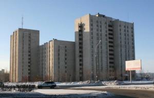 Архитектура многоэтажного дома