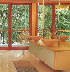 Большие стеклянные окна