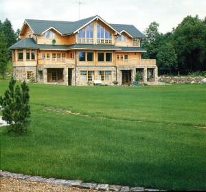 Финский деревянный дом фирмы «Honka»