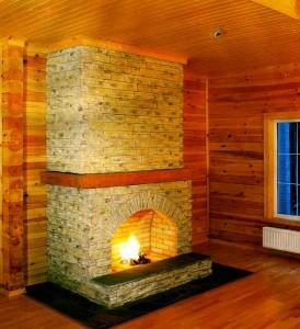 Европейский деревянный дом