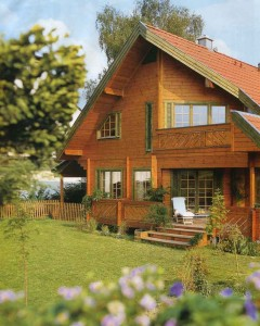 Солнечная архитектура деревянного дома