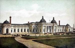 Курский вокзал Москва (Рисунок конец XIXв)