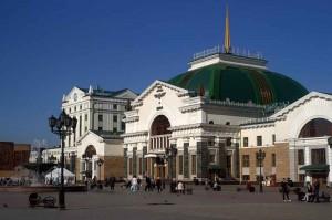 вокзал в Красноярске