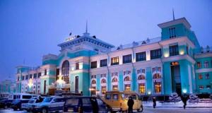 Железнодорожный вокзал в Омске