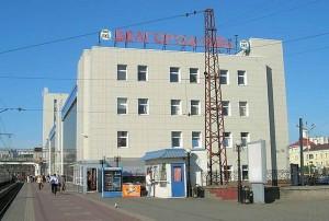 Железнодорожный вокзал Белгорода