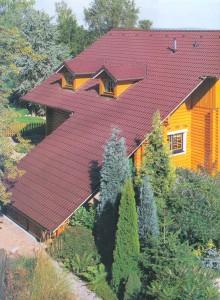 Большая крыша дома