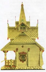 Дом в русском стиле