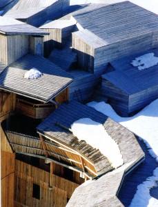 Сверху строение выглядит как лабиринт