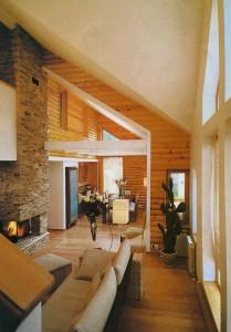 стильнйший деревянный дом