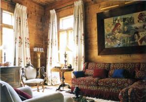 Деревенское барокко во всей красе.