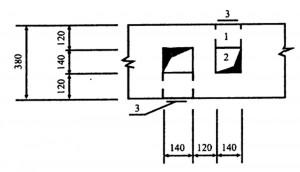 Устройство вентиляционных каналов в стенах