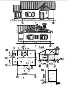 3 - комнатный жилой дом