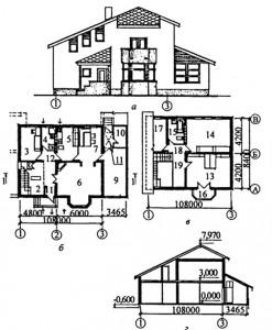 4-комнатный жилой дом