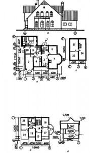 Мансардный 6-комнатный коттедж