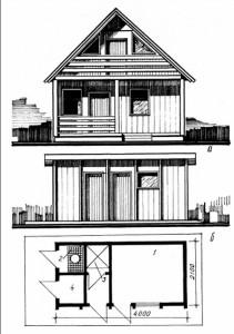 домик заводского изготовления