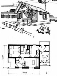 Двухкомнатный дом