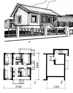 трёхкомнатный дом
