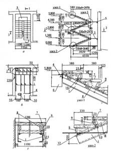 Деревянная лестница по металлическим косоурам — начало