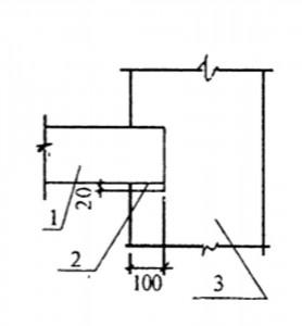 Опирание железобетонной плиты на стену