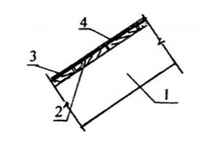 Обрешетка для плоского или низкопрофильного кровельного материала