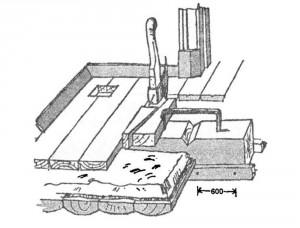 Устройство полов первого этажа: конструкция теплого пола с вентиляцией. Прием сплачивания досок