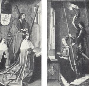 Гуго ван дер Гус. Яков III Шотландский