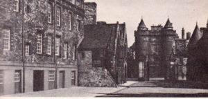 Северные ворота дворца Холируд Дворец Холируд