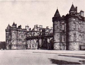 башня дворца Холируд