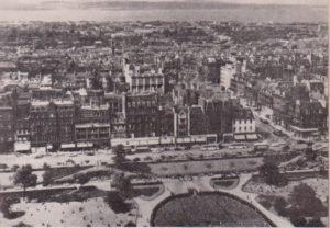 Новый город из замка
