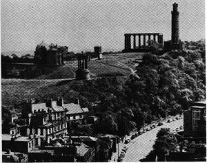 Кэлтон-хилл. Общий вид, Эдинбург