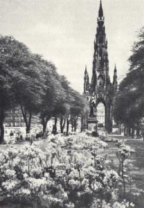 Памятник Вальтеру Скотту, Эдинбург