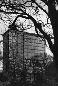 Вид со сторонь сада на площади Георга